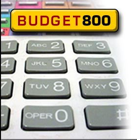 Budget800 Toll Free 800 Numbers